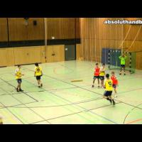 Handball 6:0 defence training