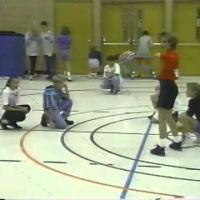 Teaching PE Lesson