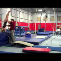 Teaching Front Handspring Vaults