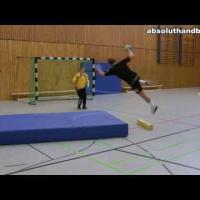 Teamhandball Pivot Training