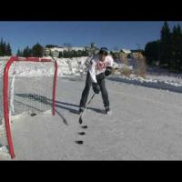 How to Backhand Topshelf Hockey backhand shot