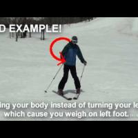 Ski Lesson Video for beginners - part 2