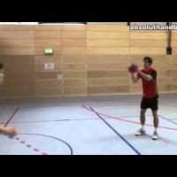 Teamhandball training for wingman (2)