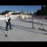 How to Take a Wrist Shot from the OFF FOOT