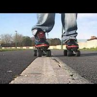 How to roller skate - Shuffle / Crabwalk