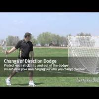 The Ultimate Guide to Youth Lacrosse - Change of Direction Dodge