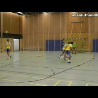 Handball backcourt decision training