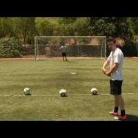 How To Curve A Soccer Ball