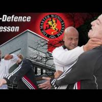 How to do self defence Lesson 28:block kick to the head, kick ribcage and body