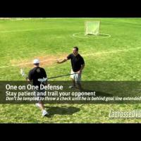 The Ultimate Guide to Youth Lacrosse - Playing D From the Top