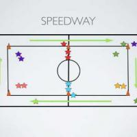 Physical Education Games - Speedway!