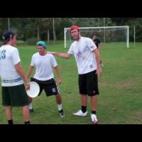 Team Marking Drill In Ultimate Frisbee