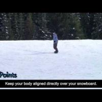 How to snowboard - Straight Runs