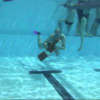 Lifesaving Sport Training Day – part 3 – Manikin carry with fins