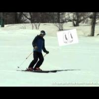 Ski Lesson Video for basic parallel turns - part 4